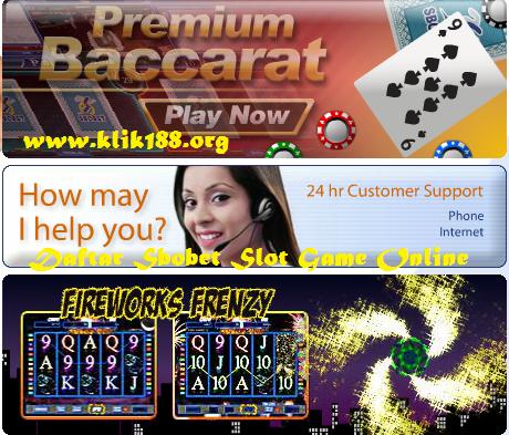 Daftar Sbobet Slot Game Online
