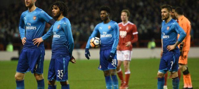 Arsenal Disingkirkan Oleh Nottingham Dari Piala FA Musim Ini
